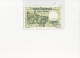 Billets -  B1546 - Belgique  - 50 Francs ( 10 Belgas) 1942 ( Type, Nature, Valeur, état... Voir 2 Scans) - [ 3] Duitse Bezetting Van België