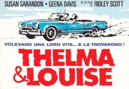 POSTER FILM THELMA E LOUISE - Cartes Postales