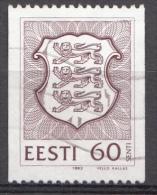 ESTLAND Mi:198 Staatswappen 1993 Used-Gebruikt-Oblitere - Estland