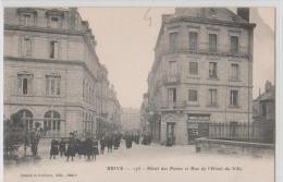 19   Brive     Hotel Des Postes & Rue De L'hotel De Ville - Brive La Gaillarde