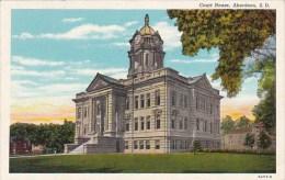 South Dakota Aberdeen Court House 1943 - Aberdeen