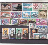 MADAGASCAR :  : Y&T : lot de 25 timbres oblit�r�s PA