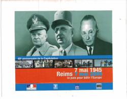 Thème - Histoire - 60ème Anniversaire De La Capitulation Reims 7 Mai 1945 - Histoire