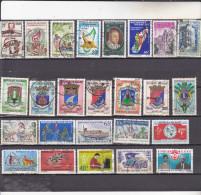 MADAGASCAR :  : Y&T : lot de 25 timbres oblit�r�s