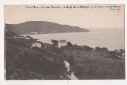 SAINTE MAXIME -  Le Golfe De La Madrague Et La Pointe Des Sardineou - Sainte-Maxime
