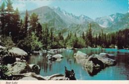 Bear Lake Rocky Mountain Nationa Park Colorado