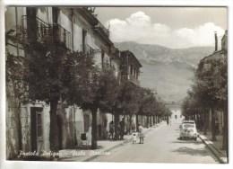 CPSM PRATOLA PELIGNA (Italie-Abruzzo) - Viale Stazione