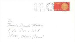 1970 £50 EUROPA ISOLATO CON ANN. TARGHETTA - 6. 1946-.. Repubblica