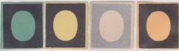 SI53D Italia Italy Sardegna 1854 Effige Di Vittorio E.II Nuove Sg.prove Di Stampa Vari Colori Su Carta Colorata - Sardegna
