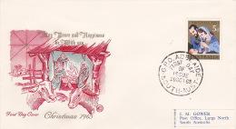 Australia 1965 Christmas Addressed Wesley FDC - FDC