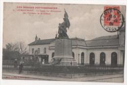 REMIREMONT - La Gare - Le Monument Des Victimes De La Guerre - Remiremont