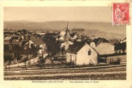 ROHRBACH LES BITCHE VUE GENERALE DE LA GARE - France