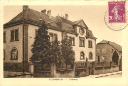 ROHRBACH LES BITCHE TRIBUNAL - France