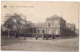 Liege Ecole Normale De L'etat Animée 1931 - Liege