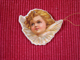 Décoration Noël Vintage , Chromo Double Face Sur Carton Trés épais , Qualité Luxe - Decorative Items