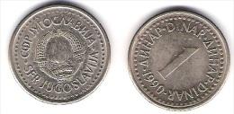 Jugoslawien 1  Dinar K-N-Zk 1994 Schön Nr.137/KM 142 - Yugoslavia