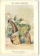 PRIX FIXE - CHROMO - AU BON MARCHE - EXPOSITION UNIVERSELLE 1900 - NOCE DE LEGUMES - Les Beaux Parents - Au Bon Marché
