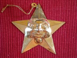 Décoration Noël Vintage , Métal - Décoration De Noël