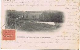 Cpa  RARE MONTMEDY Le Viaduc Et Le Tunnel De Thonne Les Pres - Montmedy