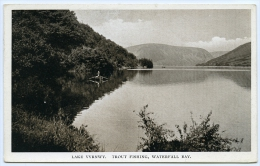 LAKE VYRNWY : TROUT FISHING, WATERFALL BAY - Montgomeryshire