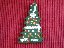 Décoration Noël Vintage , Bois Peint - Décoration De Noël