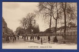 29 QUIMPER Avenue De La Gare - Animée - Quimper