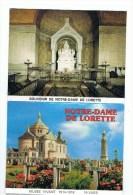 NOTRE -DAME DE LORETTE: DEPLIANT DE 10 CARTES POSTALES  MUSEE VIVANT 1914-1918 - Guerre 1914-18