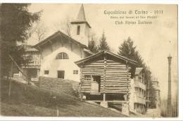 S1454 - Esposizione Di Torino - 1911 - Stato Dei Lavori Al Fine Marzo - Club Alpino Italiano - Expositions