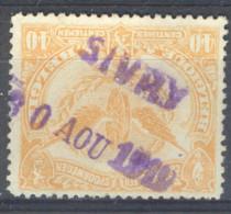 _4s-712: TR64:  SIVRY  30 AOU 1919 : Noodstempel - Railway