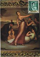 10962. Tarjeta Maxima CORDOBA 1995. Romero De Torres Pintor - Cartoline Maximum