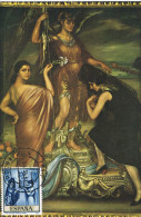 10964. Tarjeta Maxima CORDOBA 1995. Romero De Torres Pintor - Cartoline Maximum
