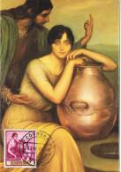 10966. Tarjeta Maxima CORDOBA 1995. Romero De Torres Pintor - Cartoline Maximum