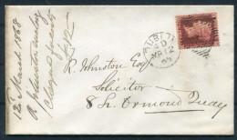 1868 GB Ireland Dublin Civil Service Institute Id Red Cover - 1840-1901 (Regina Victoria)