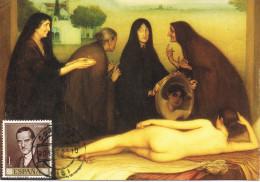 10968. Tarjeta Maxima CORDOBA 1995. Romero De Torres Pintor - Cartoline Maximum