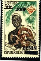 Bénin 2008  (Python Et Féticheur - 200F/50F.)   Luxe - TRES RARE - Serpenti