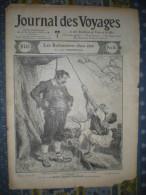 LE JOURNAL DES VOYAGES 16/07/1905 MOLDAVIE VALACHIE GALAPAGOS TORTUE RUSSIE JAPON MATSUYAMA SAUVETAGE NAUFRAGES PYRENEES - Livres, BD, Revues