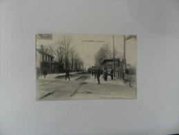 Cp  Nanterre  - La Gare - Nanterre