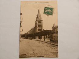OISSERY      PLACE DE L'EGLISE - Otros Municipios