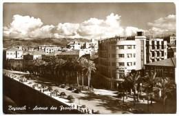 Beyrouth, Beirut, Libanon, Avenue des Francais, 1951, �sterr. Zensur