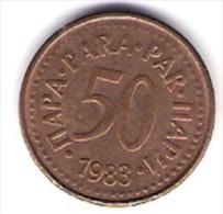 Jugoslawien 50 Para Bro 1983 Schön Nr.82 / KM 85 - Yougoslavie