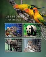 NIGER 2013 - Turtle, Endangered Species. Official Issue - Schildpadden