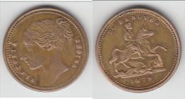 **** GRANDE-BRETAGNE - GREAT-BRITAIN - TOKEN TO HANOVER 1879 - QUEEN VICTORIA **** EN ACHAT IMMEDIAT !!! - Monarchia/ Nobiltà