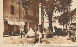 06  VENCE  PLACE  ANTONY  MARS (    Bar  Du  Globe--  Boulangerie ) - Vence