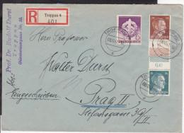 Einschreiben Troppau 1942 - Deutschland