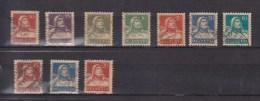1910  LOT OBLITERES  CATALOGUE ZUMSTEIN - Suisse
