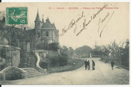 BEZIERS PLATEAU DES POETES GRANDE ALLEE  CPA BE - Beziers