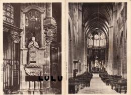 DEPT 89 ; Auxerre , 2 Cpsm Dentelé , La Cathédrale - Auxerre