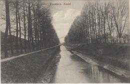 Top seltene AK,Vouziers Kanal,Feldpost,Westfront, Frankreich,1.WK