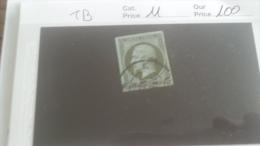 LOT 233372 TIMBRE DE FRANCE OBLITERE N�11 VALEUR 100 EUROS TB