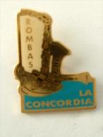 PIN´S ROMBAS LA CONCORDIA - Musique
